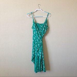 Aerie Midi Wrap Dress